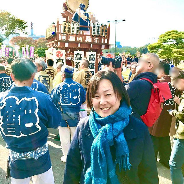 国民祭典に来ています!皇居前はすごい熱気!#国民祭典 #皇居 #即位 #Imperialpalace #天皇陛下御即位 #ありむら治子 #小林かなこ